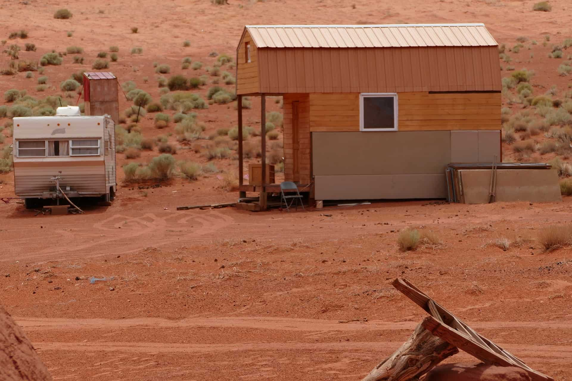 Tiny house navajo monument valley